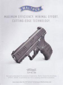 Maximum efficiency. Minimal effort. Walther's CCP M2 380