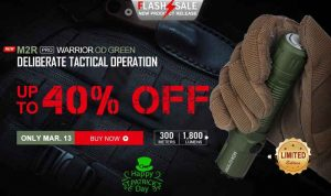 Deal Alert: OLight M2R Pro Warrior OD Green Flashlight Sale