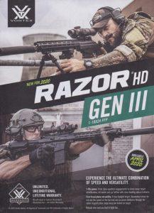 Gun Scopes For Millionaires: RAZOR® HD GEN III
