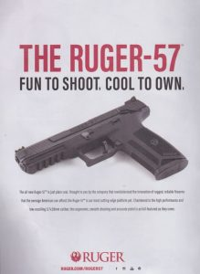Ruger 57: 21 Rounds In A Fun Little Gun