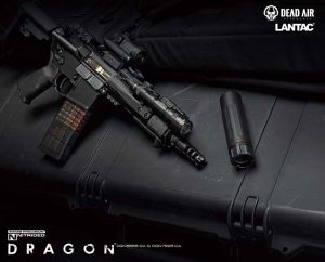 Lantac Dragon Muzzle Brakes with Dead Air KEYMO suppressor mounts