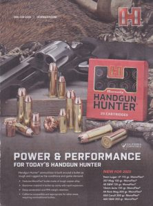 Hornady Handgun Hunter Offers 95% Weight Retention