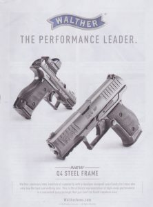 New Walther Q4 Steel Frame