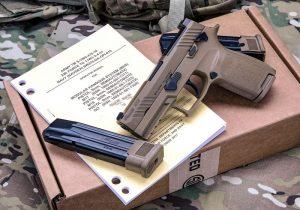 U.S. Air Force Fielding 125,000 New Sig Sauer M18 Pistols