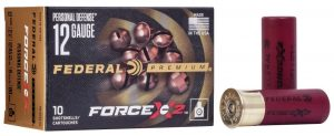 New Federal Force X2 Personal Defense Shotgun Loads